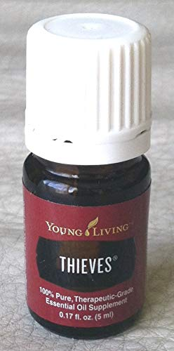 (Thieves 5ml Essential Oil by Young Living Essential Oils)