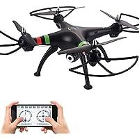 W&P Dron RC 809W 4 Canales 6 Ejes 2.4G Con Cámara 720P HD Quadcopter RCIluminación LED / Retorno Con Un Botón / Auto-Despegue / A Prueba De
