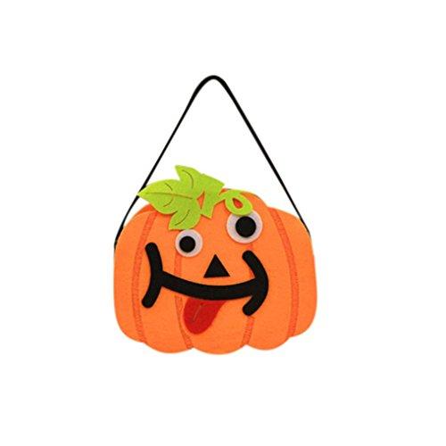HCFKJ Happy Halloween Bonbon Sac Snack Paquet Enfants M
