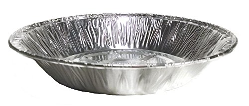 Bakery Pie Pan (Aluminum Foil Tart Pot Pie Pans (50, 6 inches diameter Shallow))