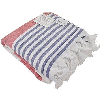 beach towel. Oversized Turkish Towel  Soft Terry Cloth Back Striped Bath Beach Amazon com Fouta Towels 39x70