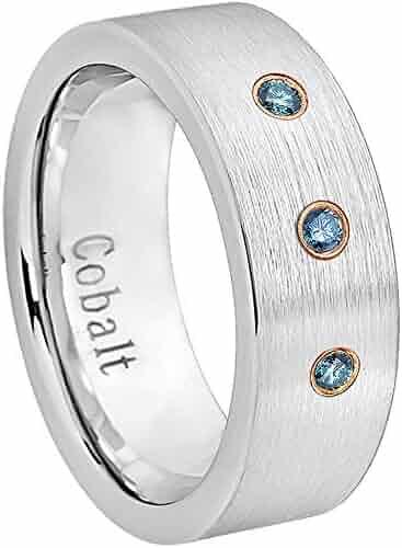 083eb957268c0 Mens cobalt 3 diamond ring