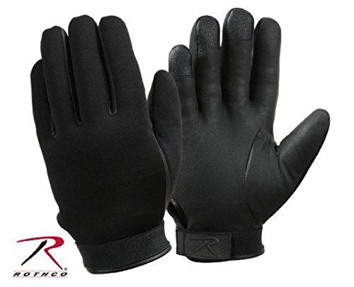 Cold Weather Insulated Mechanics Gloves (SIZE LARGE Black Waterproof Tricot Anti-Wet Lining ThermoBlock Insulated Neop...)