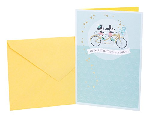 Hallmark Disney Anniversary Card for Couple (Mickey Mouse and Minnie Mouse)