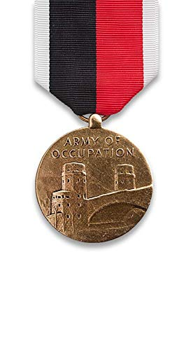 Fullsize Army/AF Occupation Medal, mirror ()