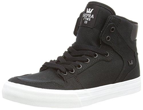 Vaider White Blk Black Mixte Supra Adulte Sneakers Noir Hautes D 4dHPAxCq