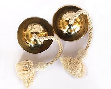 Amazon de kulture works hand made brass manjeera percussion de kulture works hand made brass manjeera percussion instrumentcymbal ideal for valentine gift ideas negle Image collections