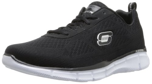 negro Skechersequalizer bkw Hombre Quick Negro Reaction Zapatillas 7xX7r