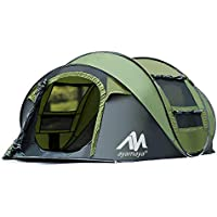 AYAMAYA Camping Tents 3-4 Person/People/Man Instant Pop...