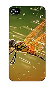 Mooseynmv IqXABAE1038gJSRx Case For Iphone 5/5s With Nice Dragonfly And Water Macro Appearance