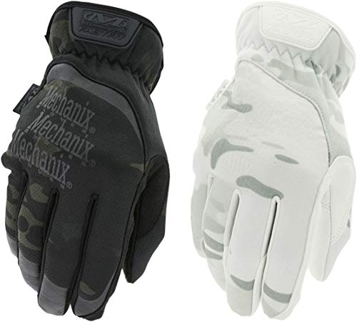 white insulated gloves - 2