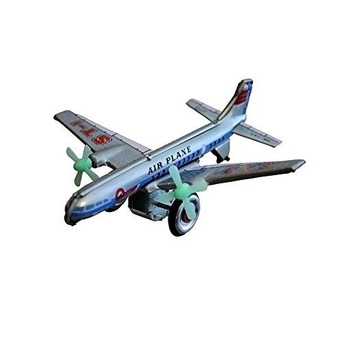 Alexander Taron Importer MF107 - Collectible Tin Toy - Plane - 2
