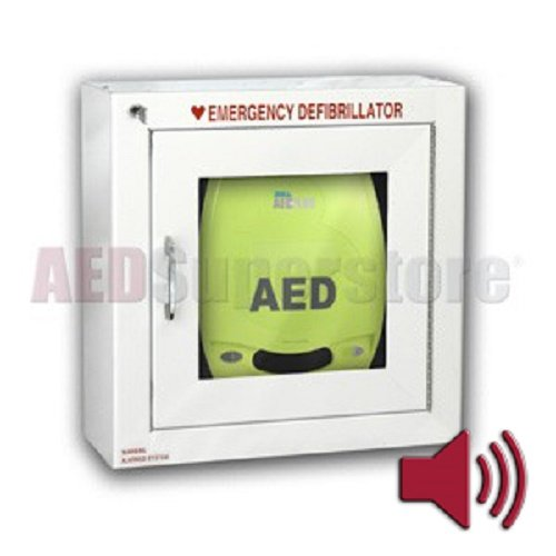 Amazon.com: Zoll Alarmed Defibrillator Storage Cabinet, Wall Mount ...