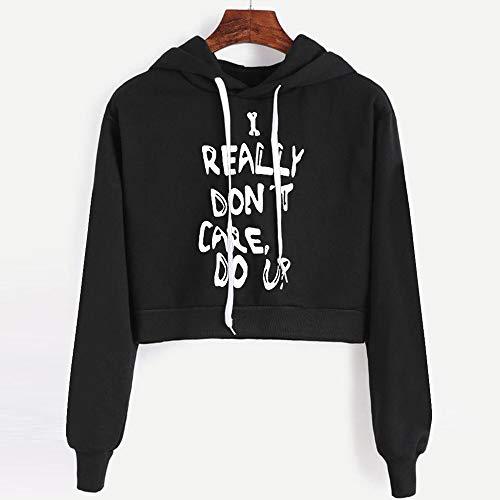 Felpa Styledresser Donna Lunga Pullover A Con Cappuccio Manica Sweatshirt Con Invernale Donna Camicia Da Nero E Magliette Donna Cappuccio tqT8qOHnrx