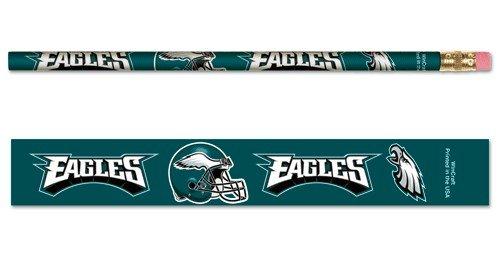 NFL Philadelphia Eagles 15566041 Pencil (6 Pack) (Win Nfl Football)