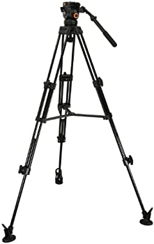 E-Image EK60AAM Fluid Drag Video Head and Tripod