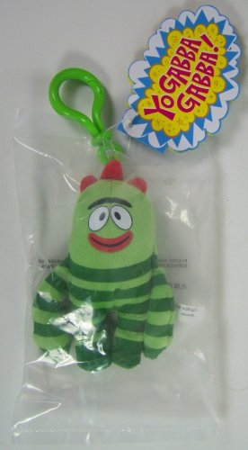 (Yo Gabba Gabba: Brobee Plush Clip On)