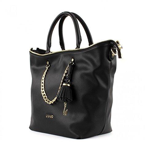 Handbag Poppa Negro