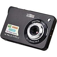 2.7 Inch TFT LCD Display 18MP 720P 8X Zoom HD Digital Camera Anti-Shake Camcorder Video CMOS Micro Camera Children Gift - Black