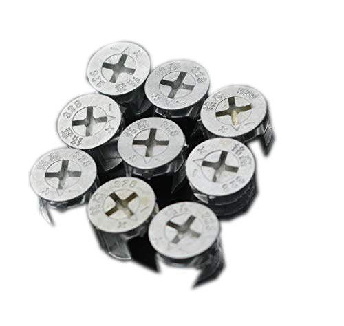 0.570.44Inch Furniture Connecting Cam Fitting,Cam Lock Nut,Furniture Connecting Fastener,Cam Connector Discs.15 Count.