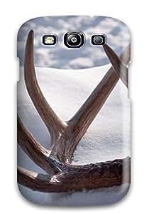 SsXHePP1874jNhwx Case Cover Antler Galaxy S3 Protective Case