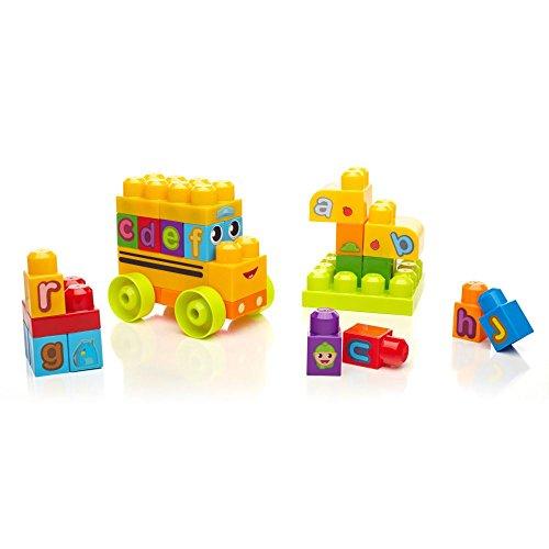 Mega Bloks First Builders Learning Alphabet Bus