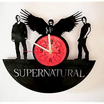 Amazon Com Supernatural Wall Clock Made From 12 Inches