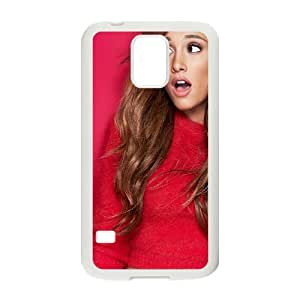 WJHSSB Customized Print Ariana Grande Hard Skin Case For Samsung Galaxy S5 I9600