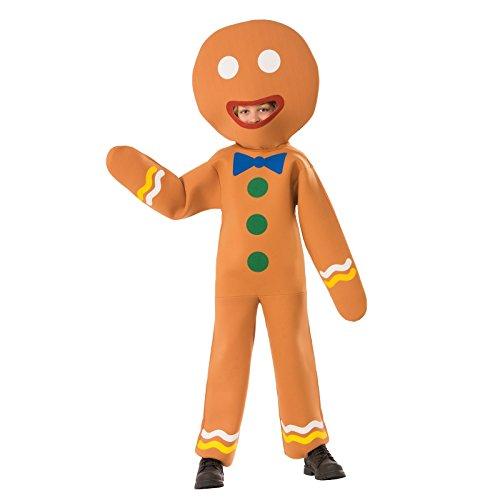 Gingerbread Man Costume Child (Children's Gingerbread Man)