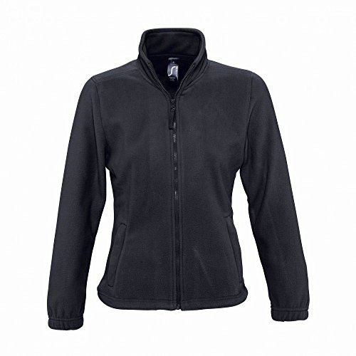 Sols Con In Pile Carbone Zip Felpa Donna 44Sq6p
