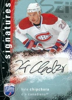 kyle-chipchura-autographed-hockey-card-montreal-canadiens-2008-ud-be-a-player-signatures-s-kc