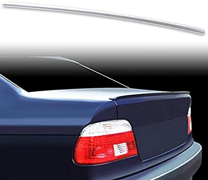BMW E39 528i Trunk Lip Spoiler Wing Painted 303 Black