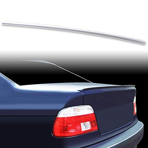 Fan Blade 5 Wing - FYRALIP Painted Factory Print Code Trunk Lip Wing Spoiler For 1995-2003 BMW 5-Series E39 Sedan M5 Fast Delivery Easy Installation Perfect Fit - 354 Titan Silver Metallic