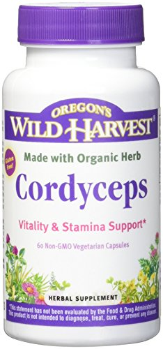 Oregon's Wild Harvest Cordyceps (Freeze-Dried) Organic, 60 Count For Sale