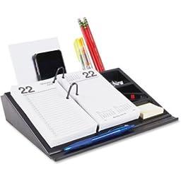 Desk Calendar Base/Organizer, 10 1/2 Inch x 8 Inch