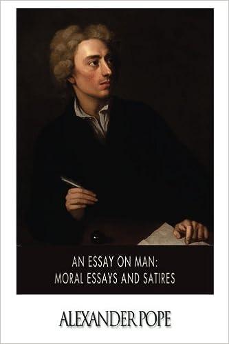 alexander popes an essay on man
