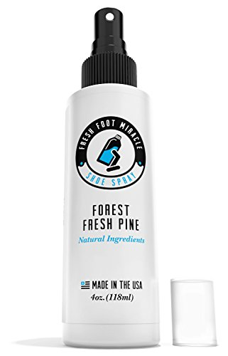 Shoe Deodorizer Spray - Fresh Foot Miracle - Forest Pine Sce