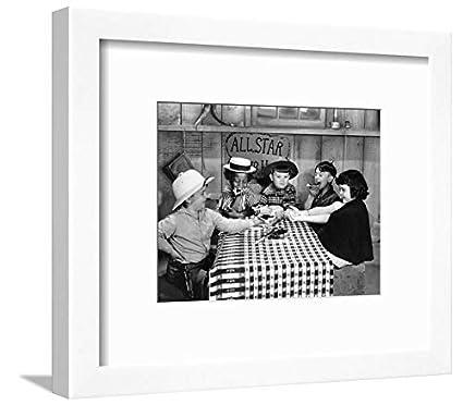 Amazon.com: ArtEdge Silent Film: Little Rascals White Framed Matted ...