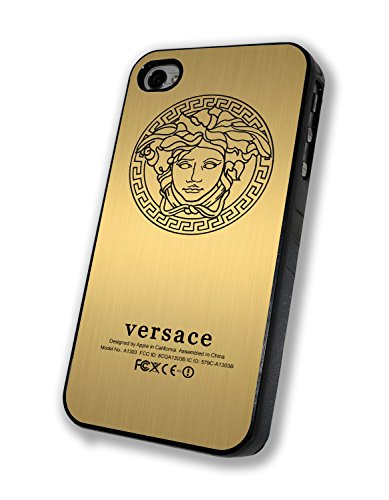Versace Gold Personalized Iphone Case - Iphone 4/4s, Iphone 5/5s/5c, Iphone 6/6s/6+ (iphone 6s black)