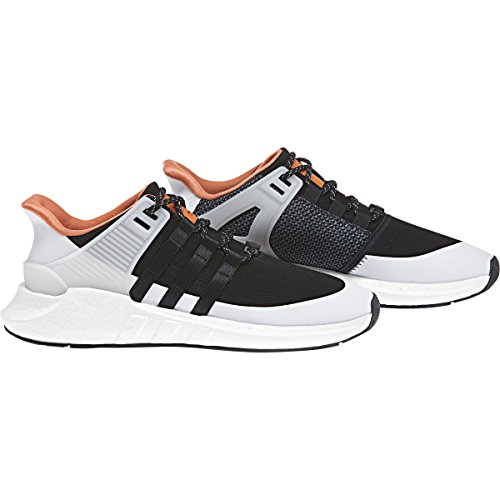 adidas Mens Originals EQT Support 93/17 Shoes (Core Black, Black, White - Size 9.5)