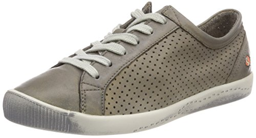 Softinos Ica388sof Washed, Sneaker Donna Beige (Taupe)