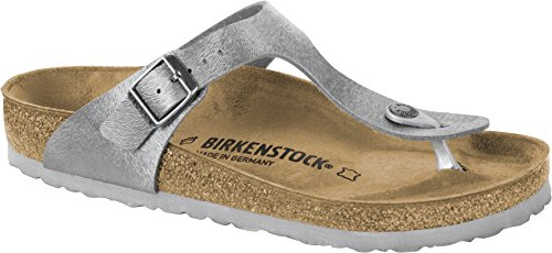Birkenstock Gizeh, Chancletas Para Mujer Gris (Animal Fascination Gray Animal Fascination Gray)