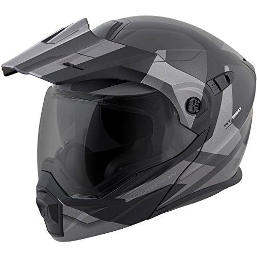 Scorpion EXO-AT950 NeoCon Street Bike Motorcycle Helmet - Phantom Siver/3X-Large