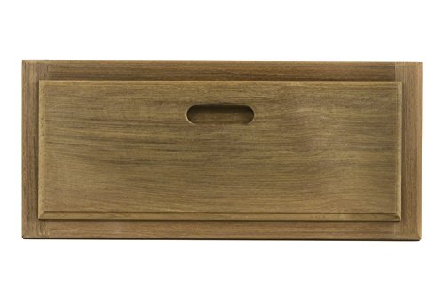(Whitecap 60734 Teak Drawer/Door Front and Frame - 18