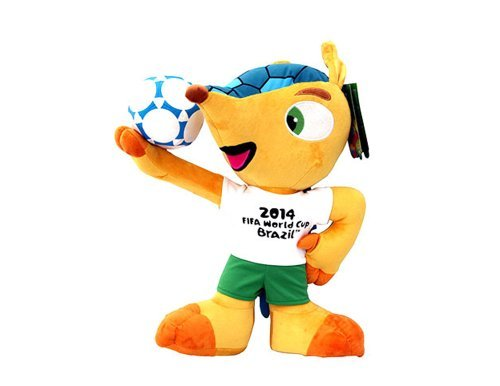 Fuleco plush 22 cm - The official mascot of the 2014 FIFA World Cup Brazil by Fdration Internationale de Football Association