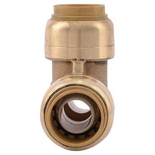 Sharkbite u lfa tee plumbing fitting pipe connector