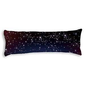 Amazon.com: Yohoba Galaxy Stars Silky Soft Satin Body