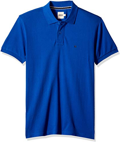 (Something for Everyone Royal Blue Men's Basic Cotton Pique Polo T Shirt)
