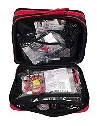 Lifeline 4388AAA   Juego de compresor de aire para coche, cable de carga, linterna y primeros auxilios