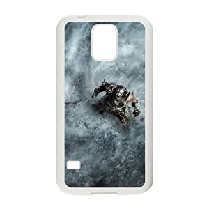 Protective TPU cover case the elder scrolls v skyrim Samsung Galaxy S5 Cell Phone Case White
